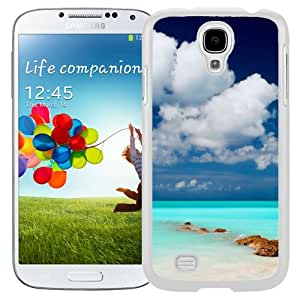Clear Blue Sea Sky (2) Durable High Quality Samsung Galaxy S4 Case