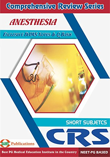 Dams crs anesthesia 2018 kindle edition by dams faculty dams crs anesthesia 2018 by faculty dams fandeluxe Images