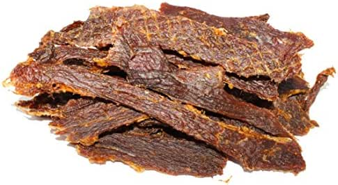 People's Choice Beef Jerky - Old Fashioned - Original - Sugar-Free, Carb-Free, Keto-Friendly - Dry Texture - 1 Pound, 1 Bag