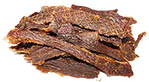 People's Choice Beef Jerky - Old Fashioned - Original - Peppered - Sugar-Free, Carb-Free, Keto-Friendly - 1 Pound, 1 Bag