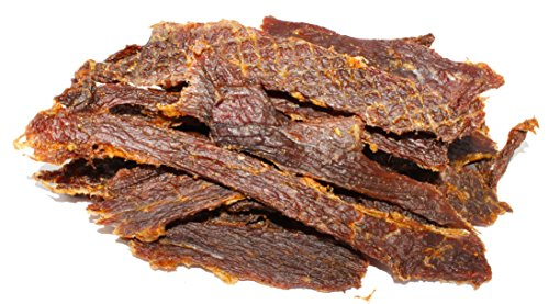 People's Choice Beef Jerky - Old Fashioned - Original - Sugar-Free, Carb-Free, Keto-Friendly - 1 Pound, 1 - Jerky Lb 1 Bag