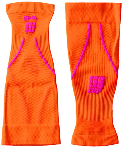 CEP Women's Progressive+ Compression Calf Sleeves 2.0 for Running, Cross Training, Fitness, Calf Injuries, Shin Splits, Recovery, and Athletics, 20-30mmHg Compression, Sunset/Pink, Size (Sunset Over Pikes Peak)