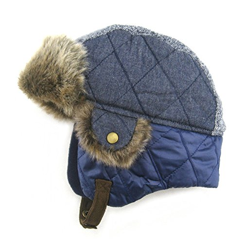 28f6fef78 Upsmile Boy Ushanka Hat Girl Bomber Hat Cap Earflap Trapper Hat Ski ...