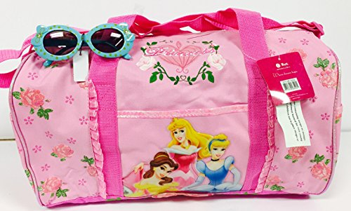 Princess Spring Disney (Disney Princess Forever Duffle Gym Diaper Sport Bag and Bonus Sunglasses Set)