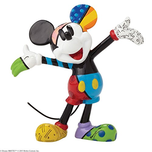 Enesco Gift Disney by Britto Mickey Mouse Mini Collectible (Disney Mickey Mouse Figurine)