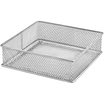 Amazon Com Design Ideas Mesh Drawer Store Silver 6 By 6