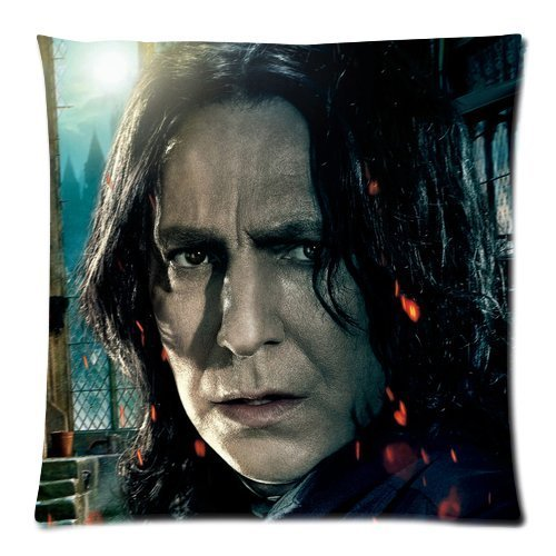 Loki Costume Diy (Every New Day Harry Potter Severus Snape Unique Custom Zippered Pillow Cases 18x18 inches(45x45cm) (Two sides))