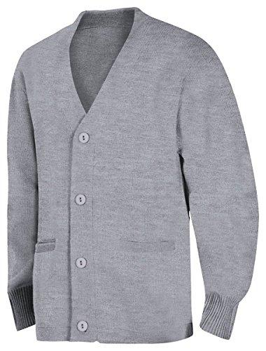 Grey School Cardigans