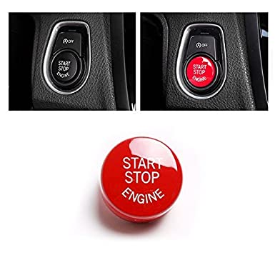 Car Engine Start Stop Switch Button Cover for BMW F30
