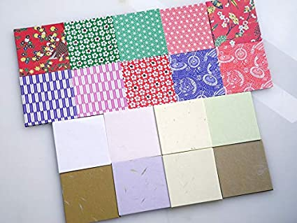 2-413 100Blatt Origamipapier The Washi 15cm Nr