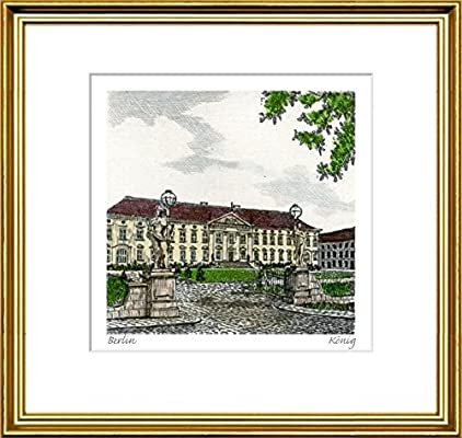 Amazon.com: Hand-colored hand-crafted etching Berlin, Schloß ...
