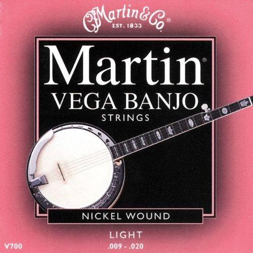 Martin Vega Banjo Strings V700 Light (.009-.020)