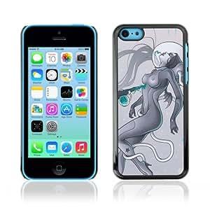 Designer Depo Hard Protection Case for Apple iPhone 5C / Sci-Fi Future Art
