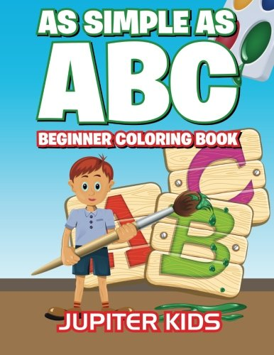 Download As Simple As ABC: Beginner Coloring Book ebook