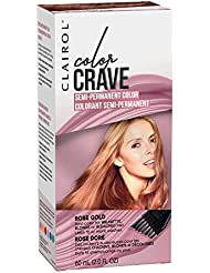 Clairol Color Crave Semi-permanent Hair Color, Rose...