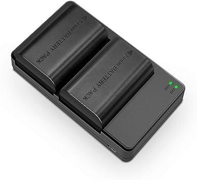 Soluser Cargador Canon LP-E6/LP-E6N Batería Recargable para Cámara de Fotos para Canon EOS 60D/EOS 7D/5D MK II (2 * 2000mAh Baterías del Reemplazo, 100% Compatible con El Original): Amazon.es: Electrónica