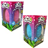 #4: Hatchimals JUMBO Bath Bomb Surprise Set of 2 - Penguala Bubble Gum and Draggle Grape