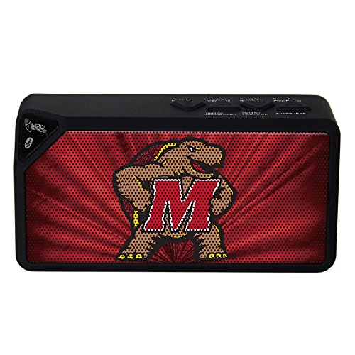 NCAA Maryland Terrapins BX-100 Bluetooth Speaker, Black