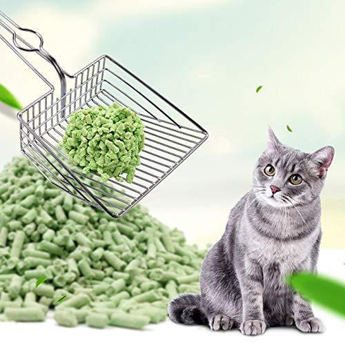 iSunday - Pala de Limpieza para Gatos, de Metal, para Limpiar el ...