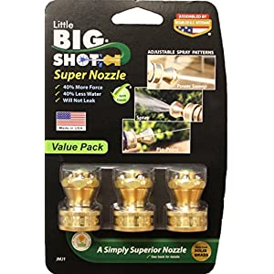 Little Big Shot Super Nozzle - 3pack