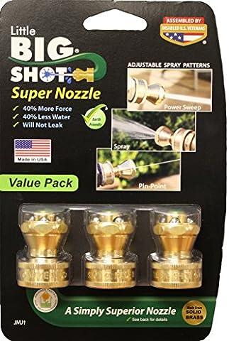 Little Big Shot Super Nozzle (3) - Bronze Transfer Pump