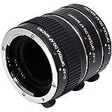 Opteka Auto Focus DG EX Macro Extension Tube Set for Canon EOS Digital SLR Cameras (12mm/20mm/36mm Tubes)