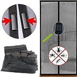 Yahee Magnetvorhang Türvorhang Insektenschutz Fliegengitter für Türen 210 cm x 100 cm