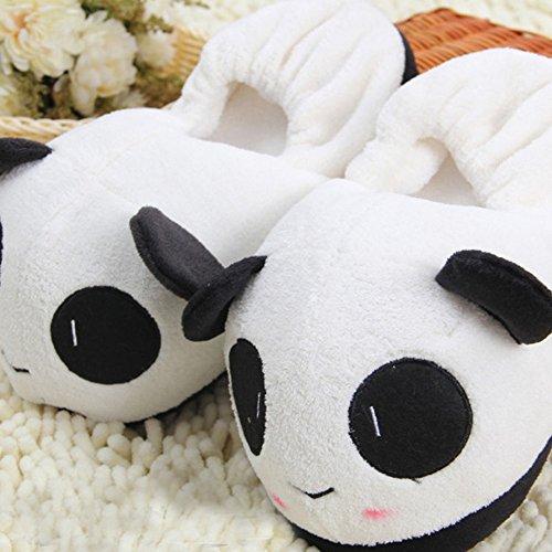Slippers Pantoufles GR Cute Panda2 Winter Panda Home ZX1EBw