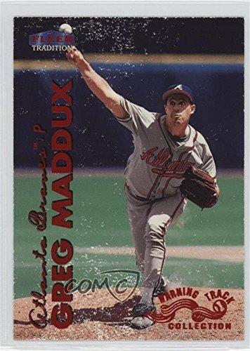 Greg Maddux (Baseball Card) 1999 Fleer Tradition - [Base] - Warning Track - W 49