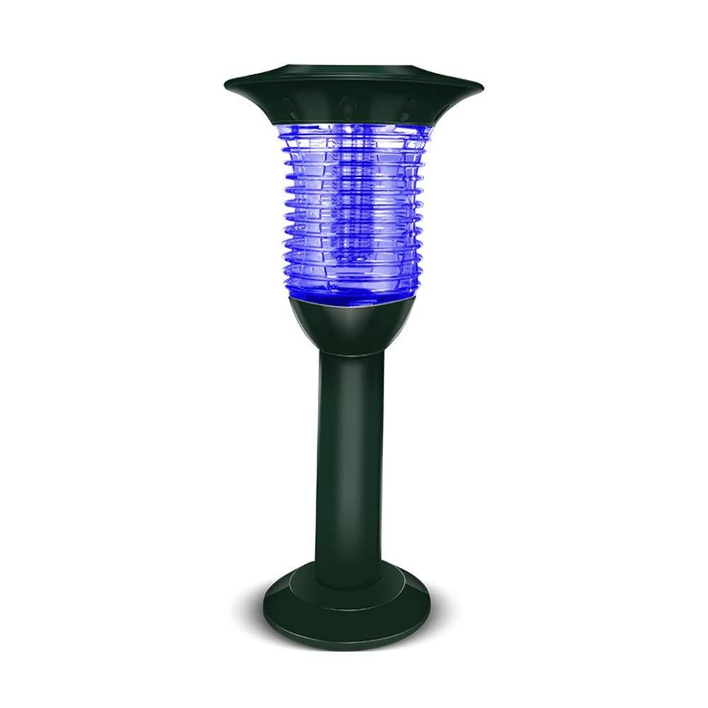 GXYAWPJ ソーラーモスキートキラー、フライングと昆虫のキラー、屋外防漏型防雨、無放射線、電気ショック、蚊のキラー B07R7QC68B