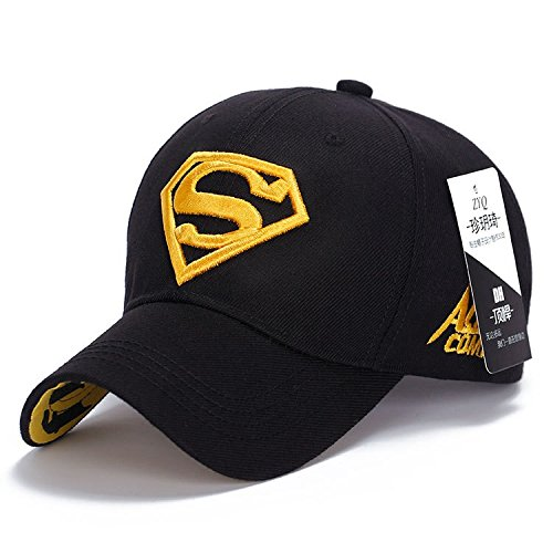 [Women Men Shiny Diamond superman Stapie Cotton NY Baseball Caps Outdoor Golf Gorras planas S Embroidery Hip Hop Casquette] (Costume Top Hats Brisbane)