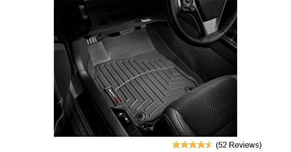 WeatherTech Custom Fit Front FloorLiner for Infiniti G Black 443501