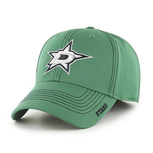 NHL Dallas Stars Adult Start Line Ots Center Stretch Fit Hat, Large/X-Large, Kelly