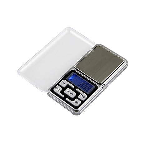 ueetek 100 g Balanza digital Mini Acero Inoxidable Báscula portátil ...