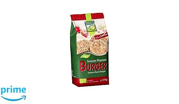 Bohlsener Mühle Mezcla para Hamburguesas Vegetales Tomate-Tomillo - 6 Paquetes de 275 gr - Total: 1650 gr: Amazon.es: Alimentación y bebidas