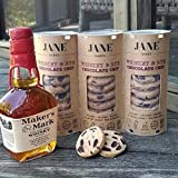 JANE BAKES 100% All Natural Whiskey Rye Chocolate Chip Cookies - 3 Pack