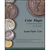 Super Triple Coin (with ) by Johnny Wong - Trick