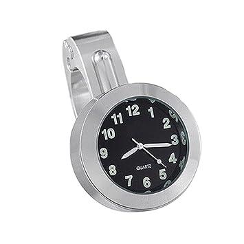 Reloj de la Motocicleta,GZQES,Reloj Manillar Montaje del Motor,Relojes para Halley