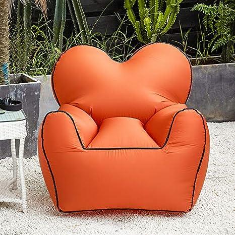 LOCYOP Tumbona Inflable para sofá con Funda para Tumbona ...