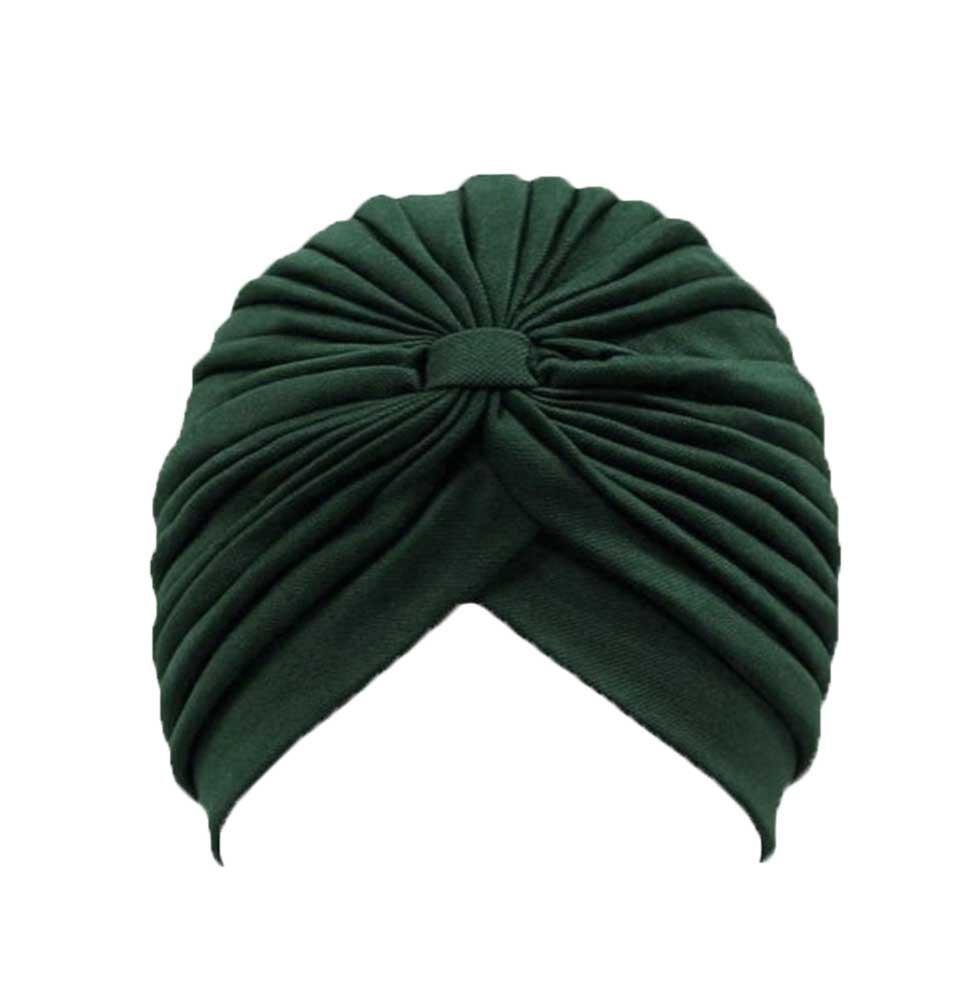 Leegoal Polyester Turban Sun Cap Hat