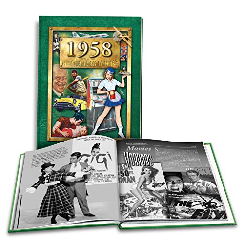 Birthday Anniversary 60th (1958 What a Year It Was! 60th Birthday or Anniversary Hardcover Coffee Table Book, (2nd Edition, 2016))