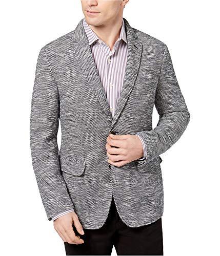 Tasso Elba Men's Classic-Fit Knit Sport Coat (Grey Combo, 3XL) -