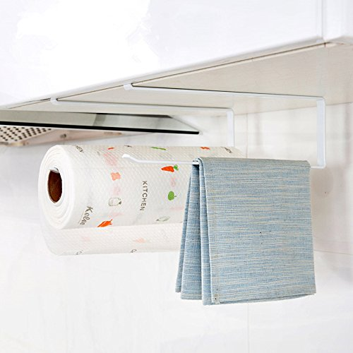 Lavenz Kitchen Paper Hanger Sink Roll Towel Holder Organizer Rack Space Save Bathroom Roll Paper Shelf by Lavenz