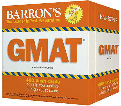 Best barrons gmat flash cards for 2019