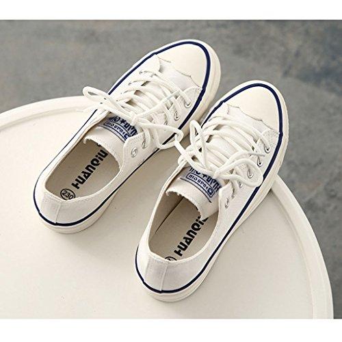 Zapatos Wei con Mujer JRenok Planos Cordones z0n0T8