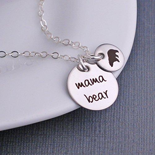 Mama Bear Necklace Charm Birthday