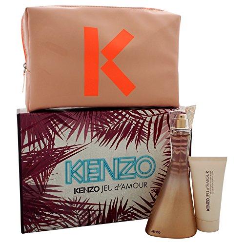 Kenzo Jeu D'amour 3 Piece Gift Set for Women
