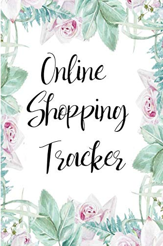 Birthday Style Notepads - Online Shopping Tracker: Keep Track Of Your Internet Spending Habits (Small Size)