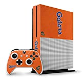 University of Florida Xbox One S Vertical Bundle Skin - Florida Gators Orange Vinyl Decal Skin For Your Xbox One S Vertical Bundle