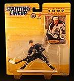 : JASON ARNOTT / EDMONTON OILERS 1997 NHL Starting Lineup Action Figure & Exclusive FLEER '96/'97 Collector Trading Card